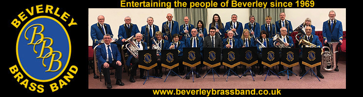 Beverley Brass Band Header